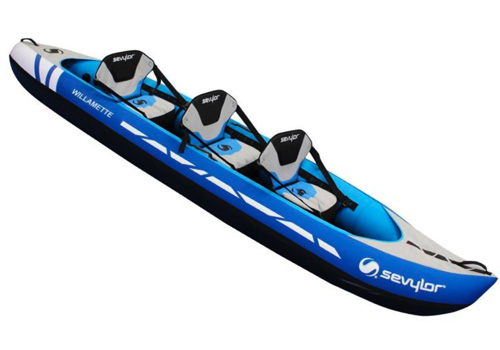 Sevylor Willamette Kayak 3 Seat