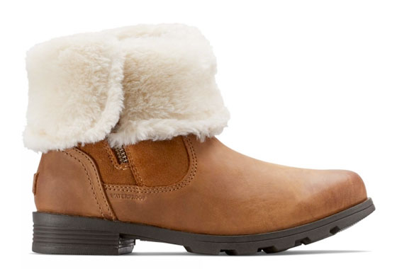 Sorel Emelie Womens Foldover Boot