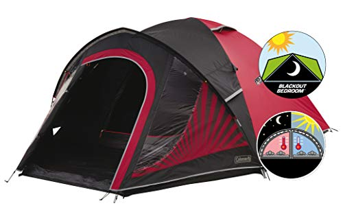 Coleman Tent The BlackOut 4, 4 man tent with BlackOut Bedroo