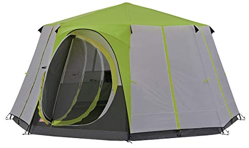 Coleman Tent Octagon, 6 to 8 Man Festival Dome Tent, Waterpr