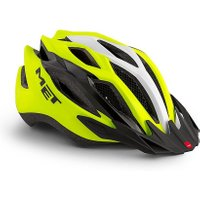 MET Vinci Crossover Helmet, BRIGHT YELLOW/CROSSOVER