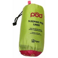 HI-GEAR SLEEPING POD, LIME/LINER